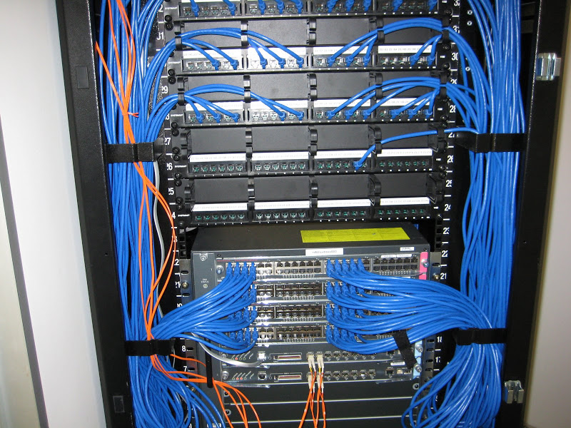 Computer Network Wiring Lan Cabling Cat5 Cat6 Cat7