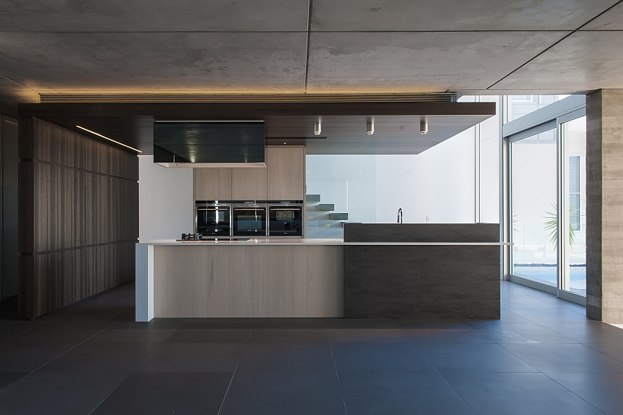 LED-contemporary-kitchen-montreal-electrician-DEL-Éclairage-1